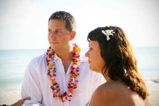 Wedding Vows on the Beach